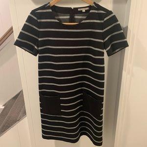 Women GAP Dress XS Stripes with pockets